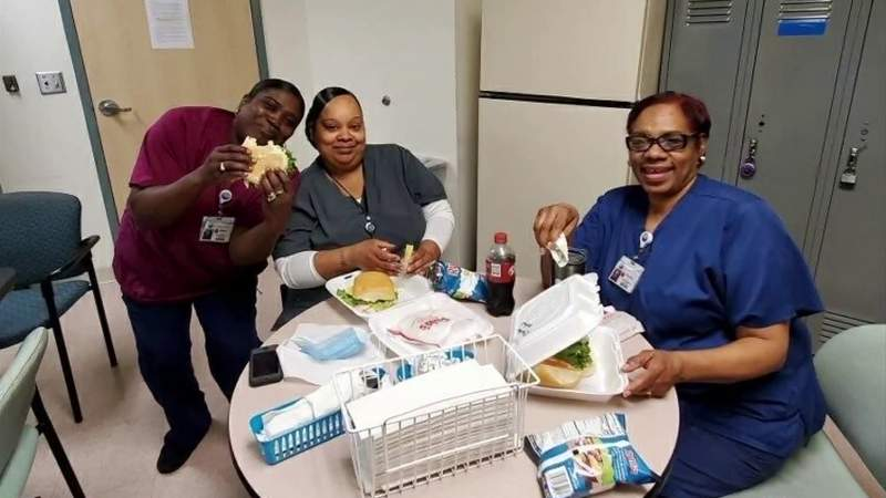 Food for Frontline: Lynchburg hospital workers get Macado's lunch