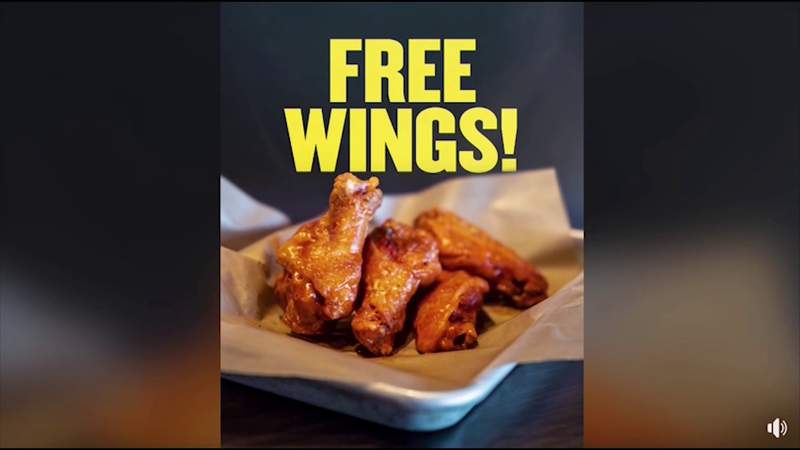 Get free wings at Buffalo Wild Wings if the Super Bowl goes into overtime