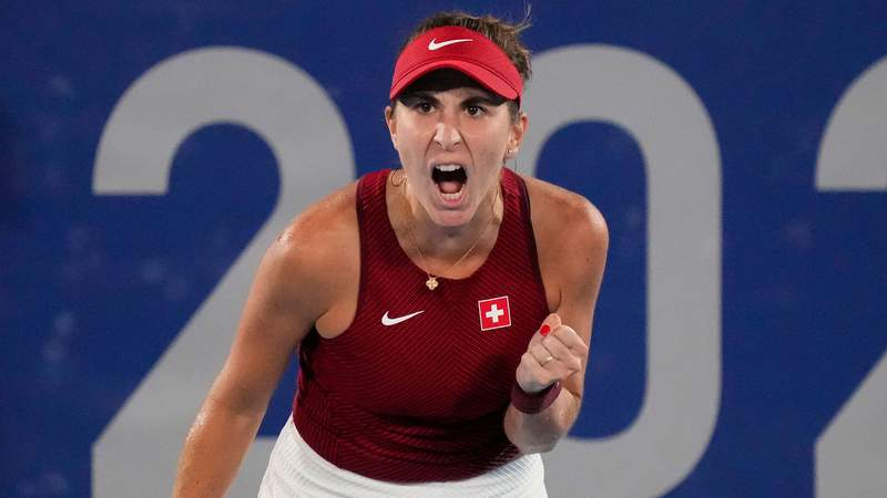Belinda Bencic became the first Swiss player since Roger Federer in 2012 to win an Olympic medal.