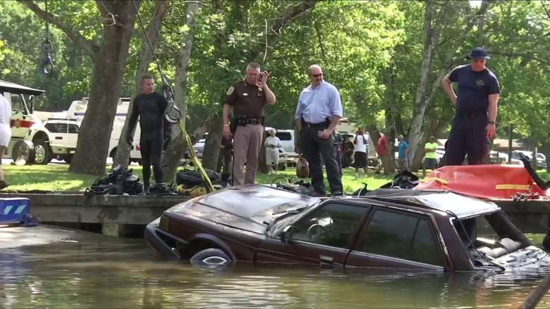 Several vehicles recovered from James River