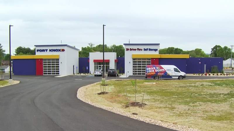 New self-storage facility now open in Roanoke, at site of old Happy's Flea Market