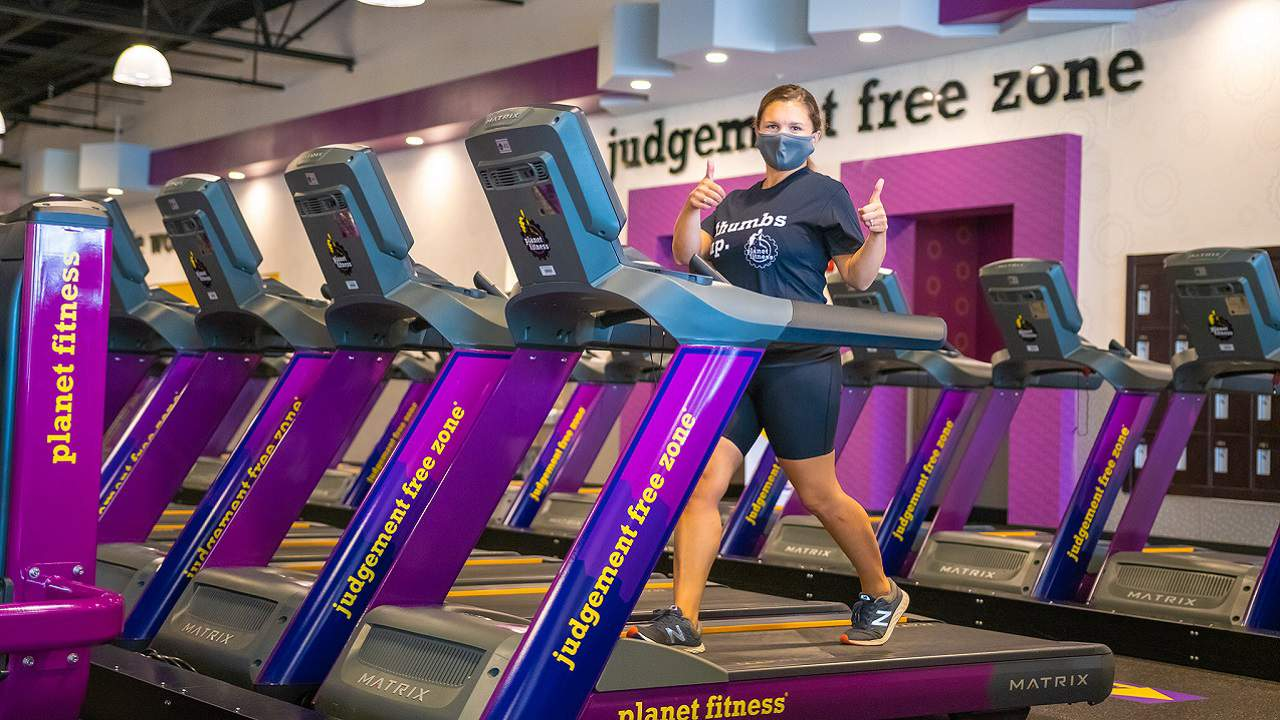 Planet Fitness members now required to wear masks