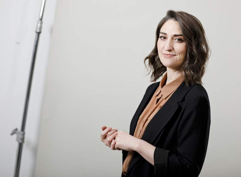 FILE - Musician Sara Bareilles poses for a portrait in New York on March 26, 2019. The NBCUniversal streaming platform Peacock said Monday the Grammy-winning artist and Broadway songwriter Bareilles will star in Girls5eva, co-produced by Tina Fey. (Photo by Brian Ach/Invision/AP, file)