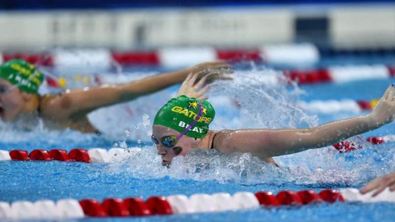 Swimmer Olivia Bray set to compete in 2020 Olympic Trials, now postponed one year