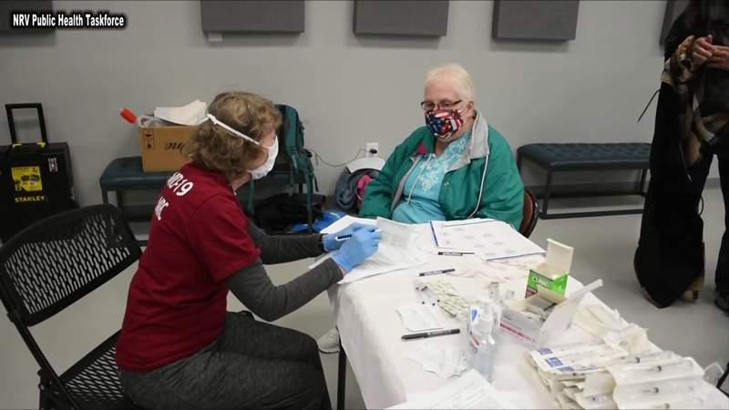 COVID-19 cases in Virginia trending upward