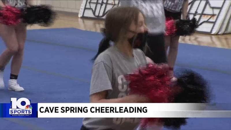 Cave Spring cheerleading