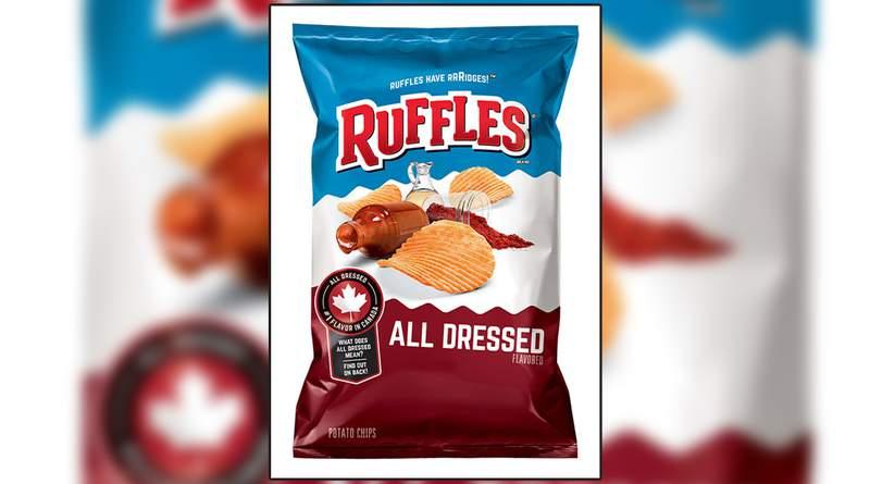 Ruffles All Dressed potato chips