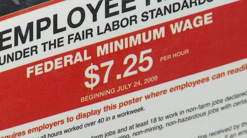 Proposed increase to Virginia's minimum wage