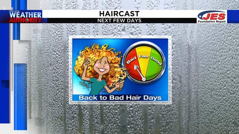 Plenty of bad hair days on the way