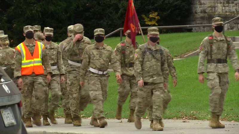 Virginia Tech cadets carry on tradition