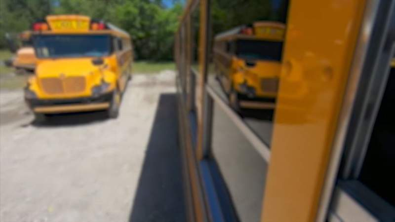 School bus drivers consider strike