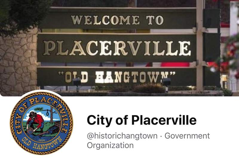 """This image from the City of Placerville's Facebook page shows the town's logo that includes a noose. The California Gold Rush town of Placerville will change its logo to remove a noose that stems from its mid-19th century reputation as """"Hangtown"""" following lynchings of criminal suspects by mobs of miners. The City Council voted Tuesday, April 13, 2021, night to remove the noose after listening to emotional comment from residents, CBS 13 Sacramento reported. (City of Placerville/Facebook via AP)"""