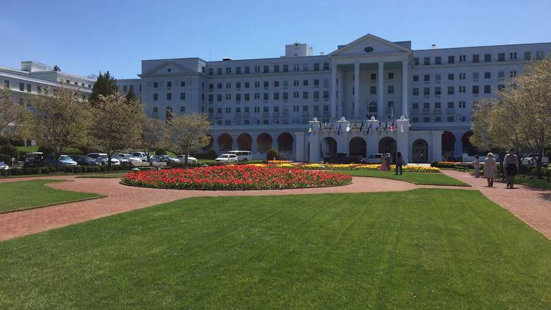 The Greenbrier in White Sulphur Springs, West Virginia on April 21, 2018.
