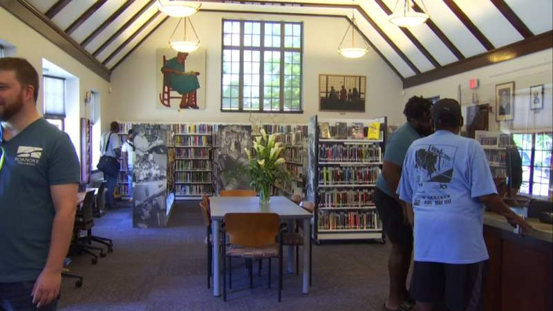 Gainsboro Library reopens in Roanoke