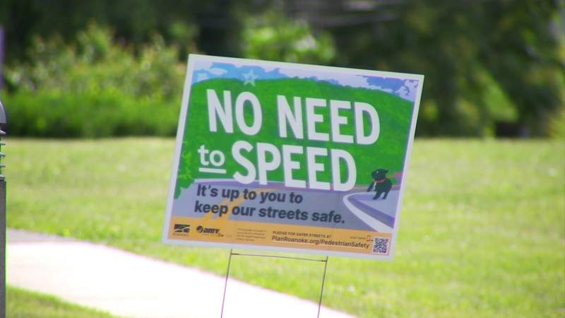 """""""No need to speed"""" campaign launched in Roanoke"""
