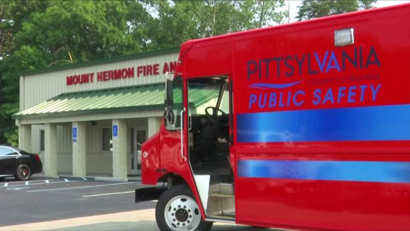 Pittsylvania County Public Safety receives $175,000 truck from Morgan Olson