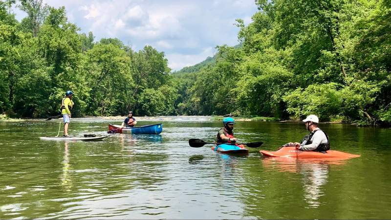 Urban kayaking on the Roanoke River: You don't know what you're missing