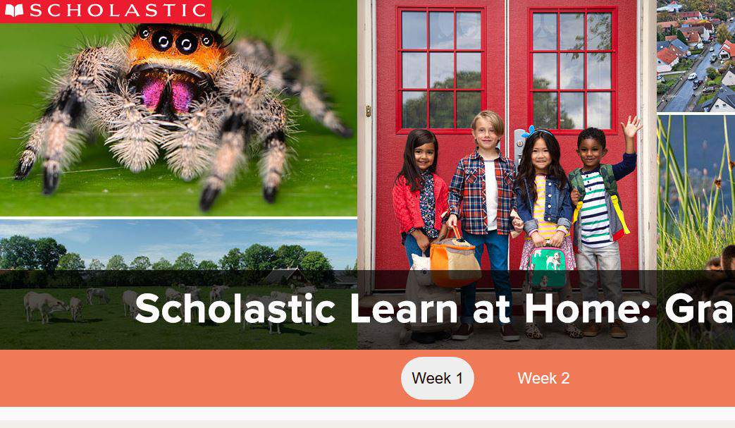 Free Scholastic Learn At Home Activities Resources