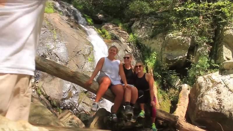 Backpackin' with Brooke: Fallingwater Cascades