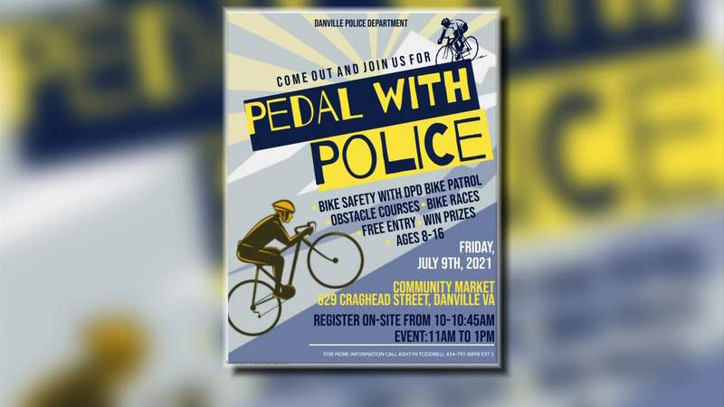 Pedal with police for safety