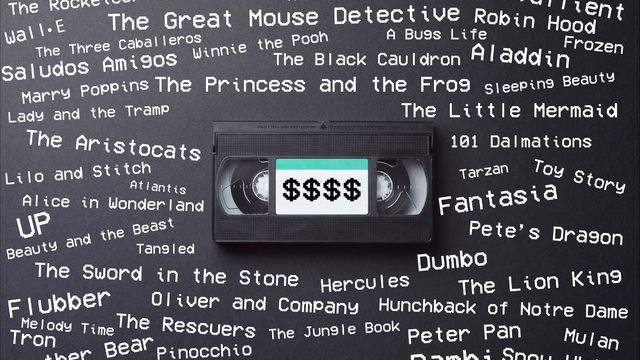 VHS Tape Walt Disneys The Jungle Book RARE Black Diamond Classic