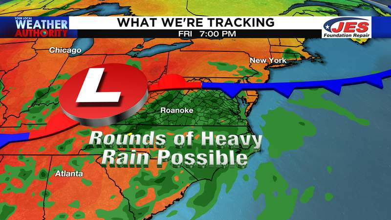 What We're Tracking by Friday of this week