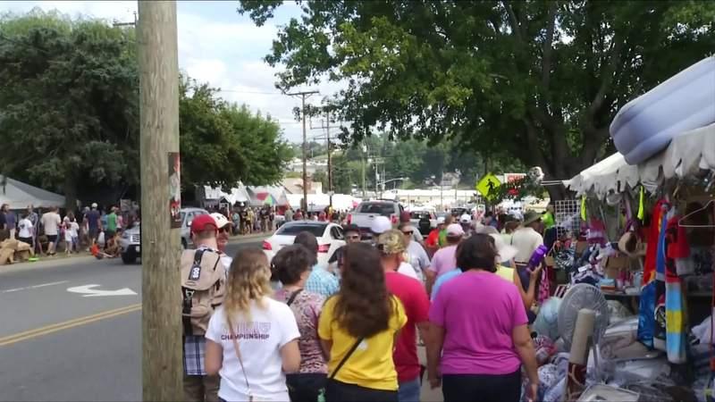 Town of Hillsville cancels annual flea market