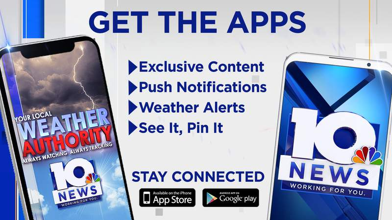 WSLS 10 offers both a weather app and a news app.