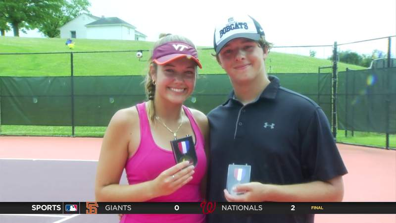 WATCH: VHSL Tennis Singles Championships