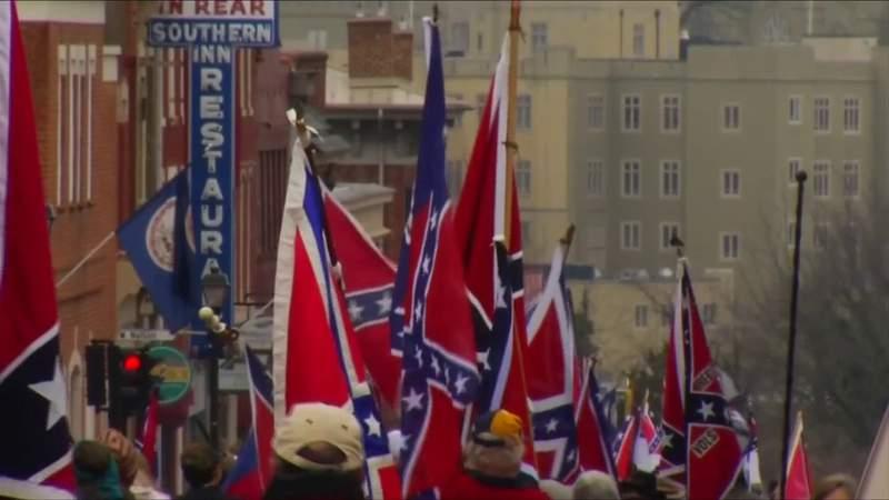 Debate over confederate monuments continues in Virginia