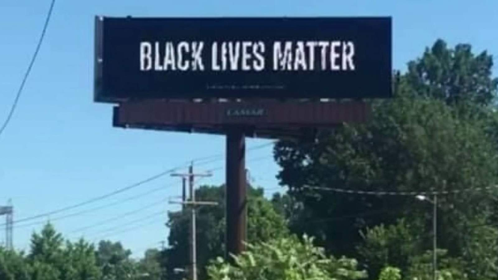 Donations help woman with Lynchburg-area ties buy Black Lives Matter billboard