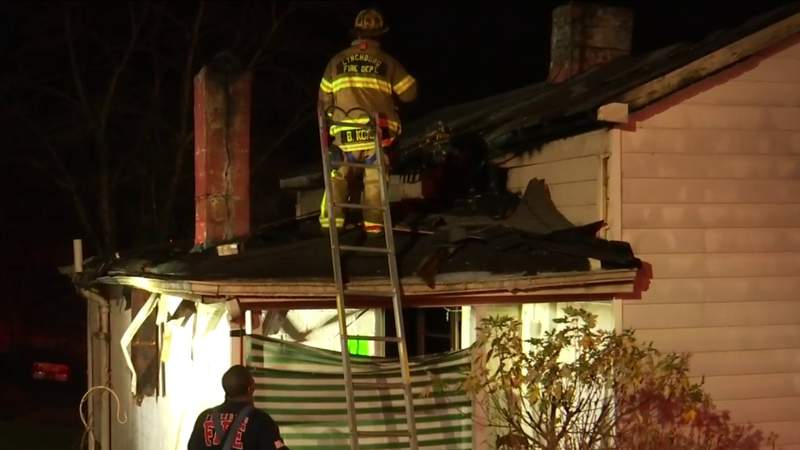Investigation underway after house fire in Lynchburg