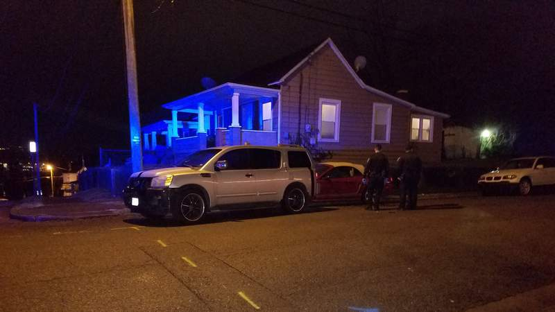 Police say there were shots fired and a hit-and-run within minutes of each other in northwest Roanoke on Tuesday night. Police believe the two incidents are related.