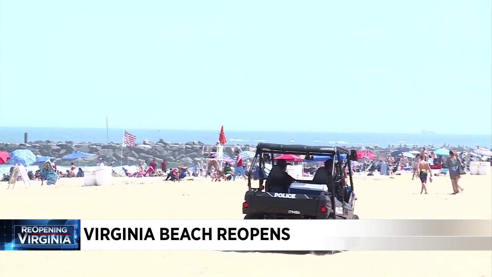 """I think it's working well,' Governor Northam pleased with Virginia Beach opening"