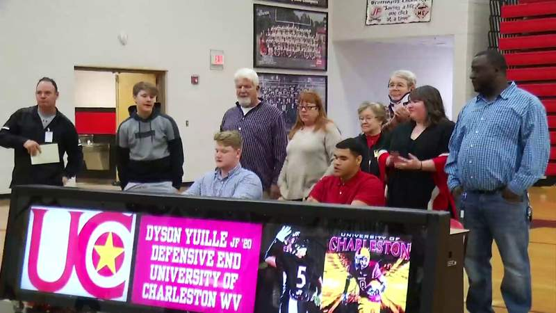 Local Area College Signings
