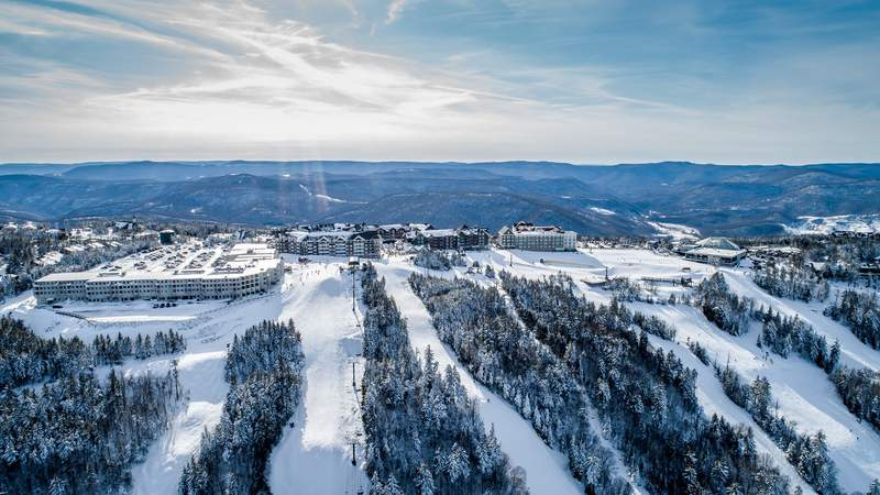 Skiers and snowboarders won't take to the slopes at Snowshoe Mountain until December 4.