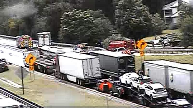 Screenshot taken at 2:54 p.m. July 30, 2020 at mile marker 168 on Interstate 81 South.