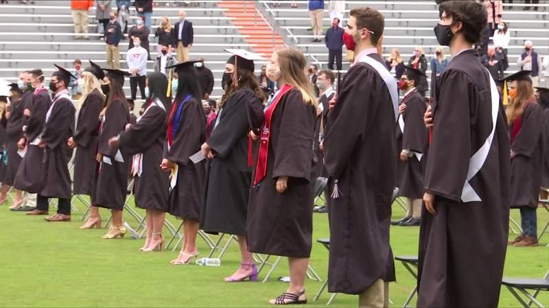 Virginia Tech holds Class of 2020 graduation
