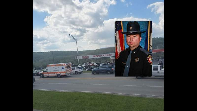 Suspect charged with shooting of police chief in Southwest Virginia