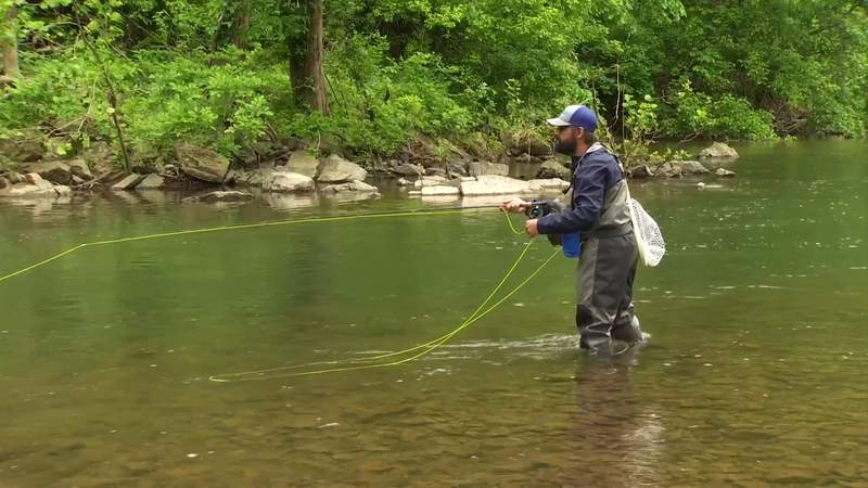 How fly fishing saved a Southwest Virginia veteran's life