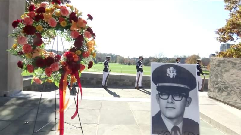 Virginia Tech honors Medal of Honor recipient
