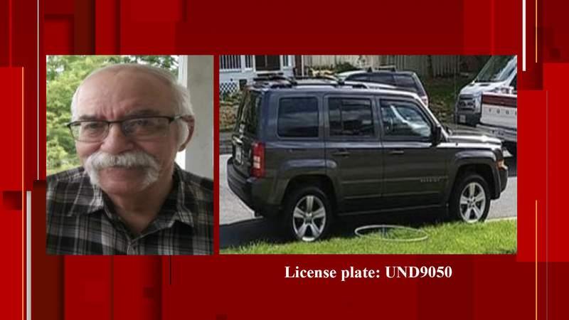 Rodney Dwight Turnboo was last seen Sunday morning.
