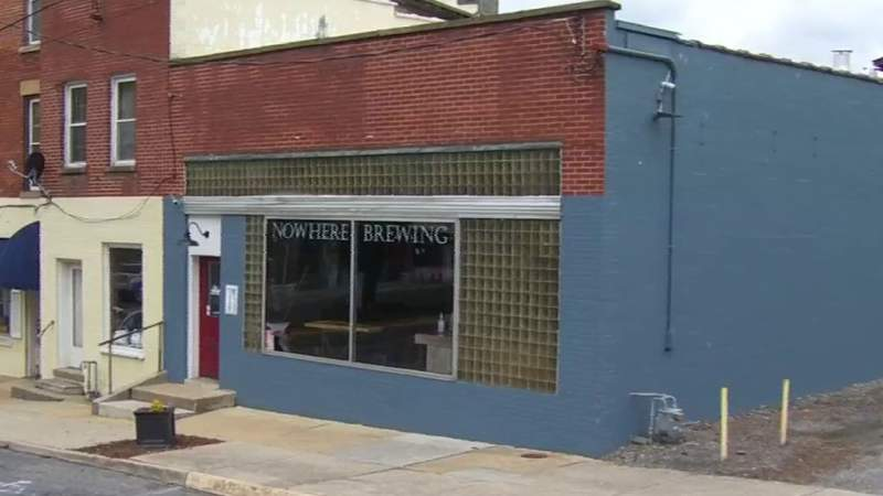 Alleghany man opens brewery during pandemic