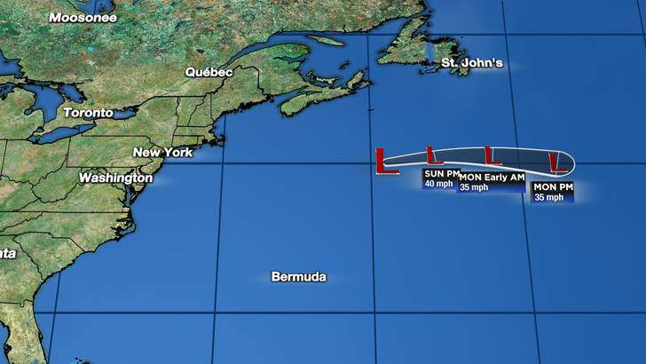 Forecast Cone image updated at 03:46 AM