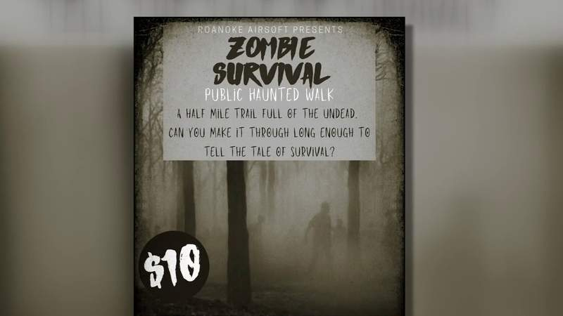 Dare to walk the Zombie Trail in Roanoke