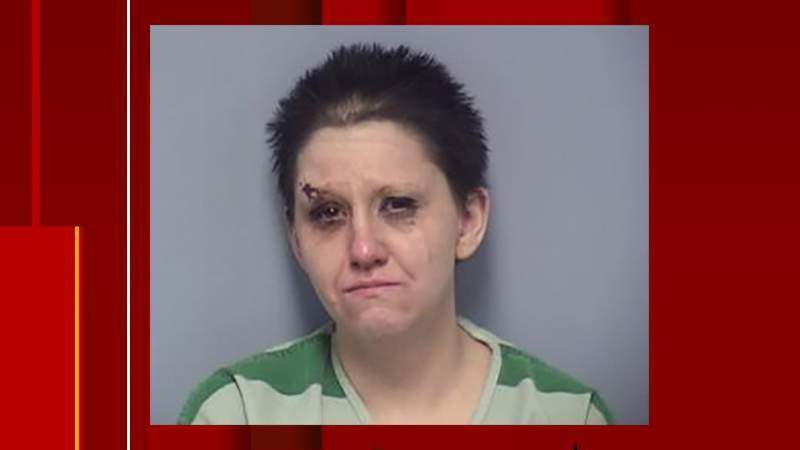 US Marshal vehicle and telephone pole hit as deputies worked to arrest Roanoke woman