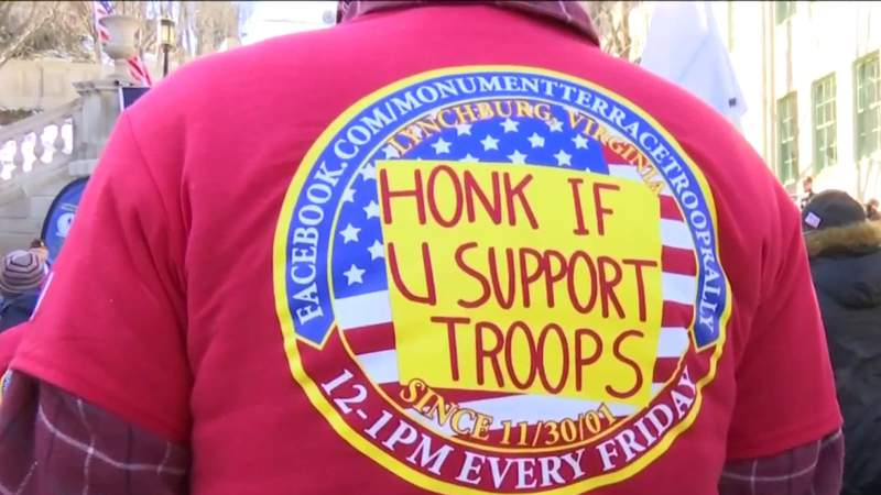 In Your Town: Lynchburg group rallies support for troops