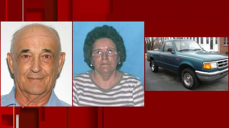 Charles,  Ruby Wilmer and a similar truck to the one they were last seen in.