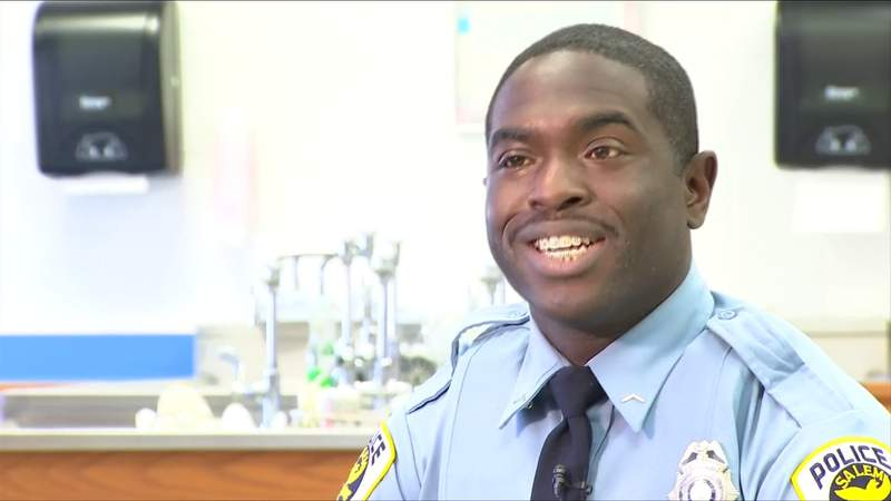 Top honors for Salem school resource officer
