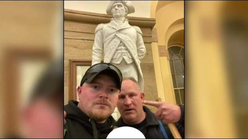 US offers plea deal to former Rocky Mount officers charged in connection to Capitol riot